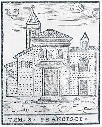 Primo convento francescano a Roma