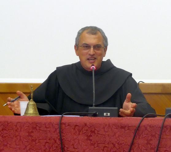 Padre Massimo Fusarelli - parroco della Chiesa di San Francesco a Ripa