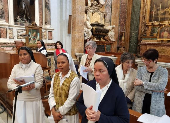 Coro delle suore a San Francesco a Ripa