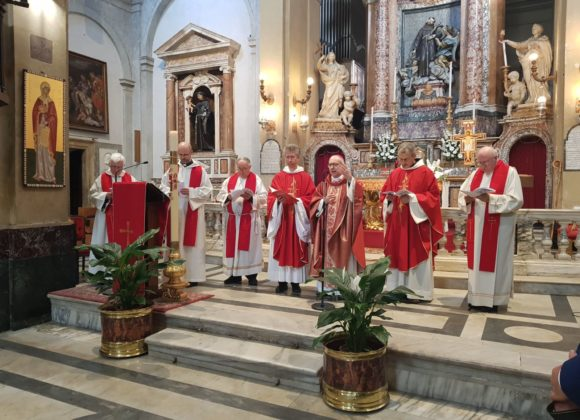 Preti e Vescovo a San Francesco a Ripa
